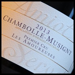 Amiot Servelle Chambolle-Musigny Les Amoureuses 2013