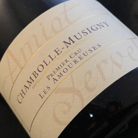 Amiot Servelle Chambolle-Musigny Les Amoureuses 2016